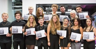 FOR WEB The ghd style squad 2013-14 team say a fond farewell