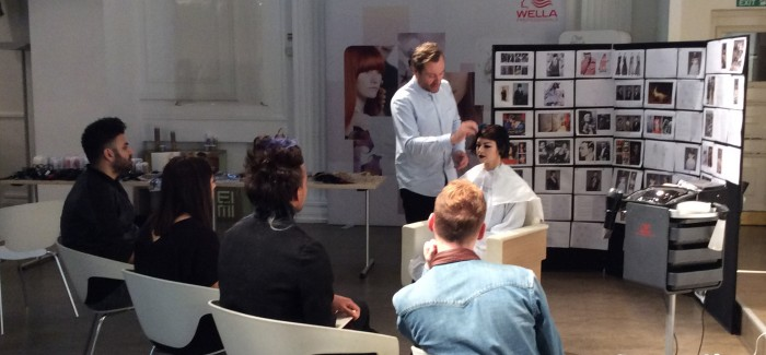Blog: Bruce Masefield shares with Wella