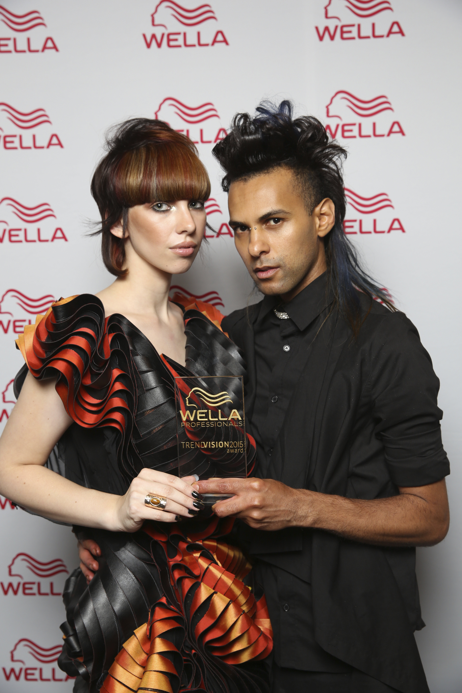 Gold ColorVision Ireland Winner - Leandro Santana Santos - Santanna Hair Studio - Press Wall Image