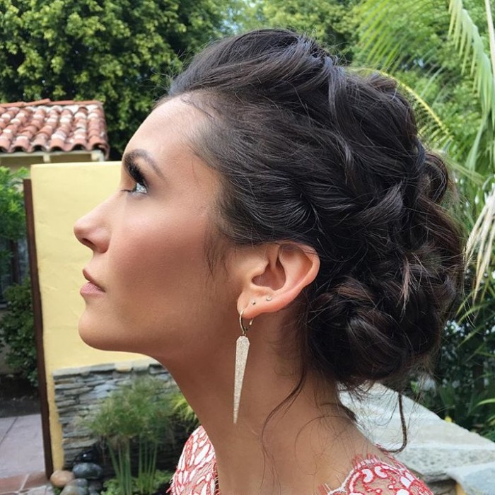 Nina Dobrev's 2016 Golden Globes LOOK