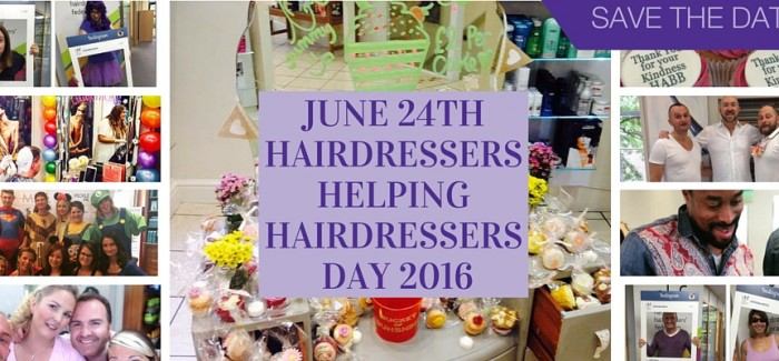 HAIRDRESSERS HELPING HAIRDRESSERS DAY 2016