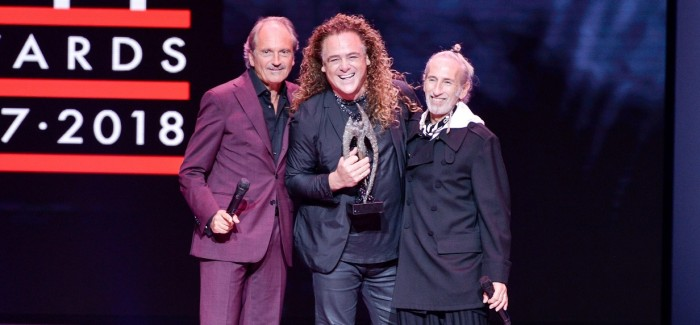 Patrick Cameron Presented With Legend Award At The Alternative Hair Show