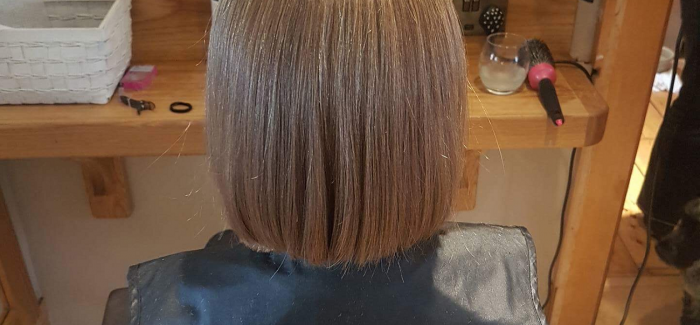 Charity Chop For Caitlin