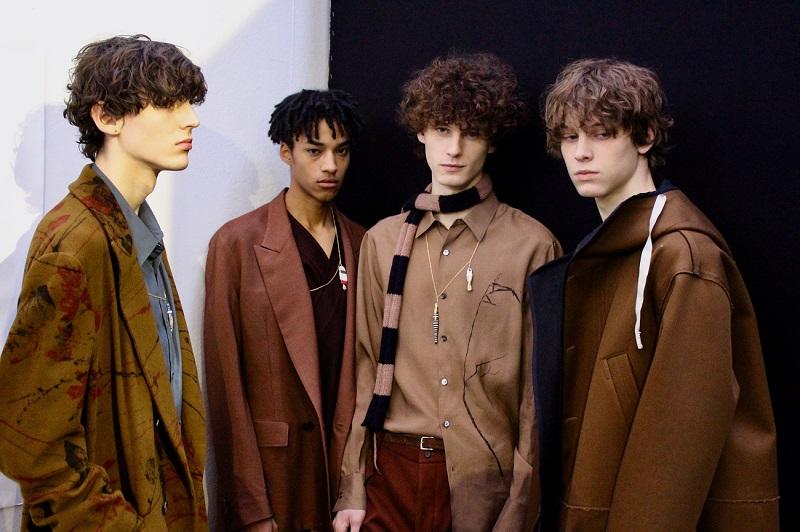 Models at Milan - www.salonbusiness.co.uk