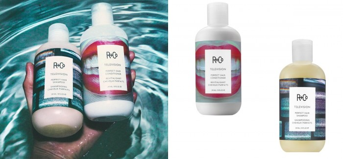 R+CO Is Launching TELEVISION Perfect Hair Shampoo + Conditioner