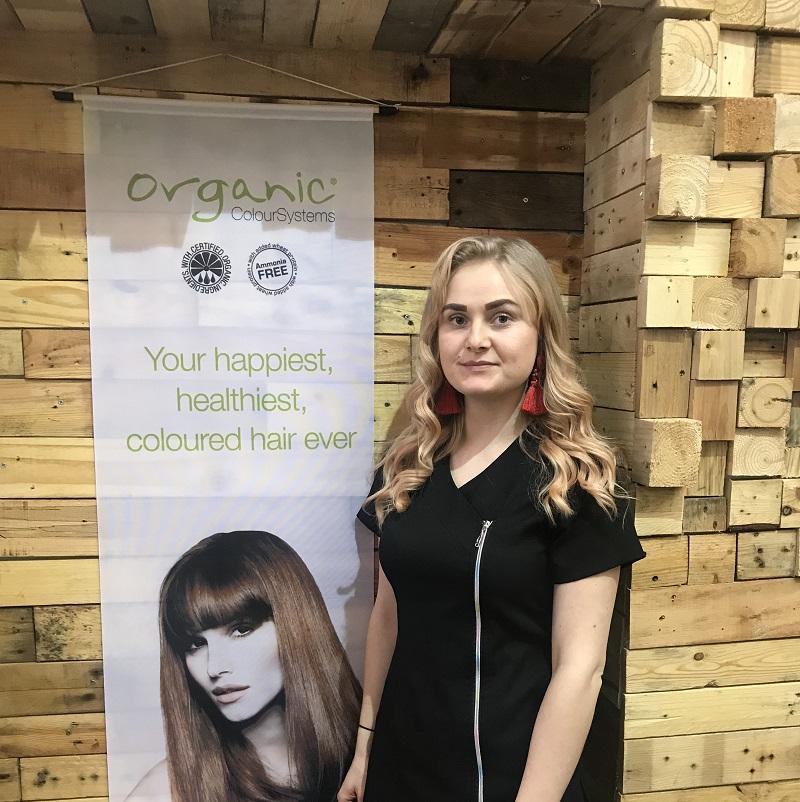 Uplift Organic Hair Owner Bronte - www.salonbusiness.co.uk