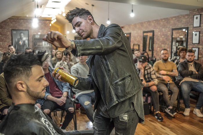 OSMO barber event 1  - www.salonbusiness.co.uk