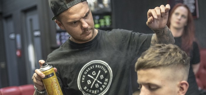 OSMO Sponsors Great British Barber Bash