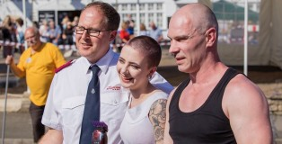 Charity Head Shave - www.salonbusiness.co.uk