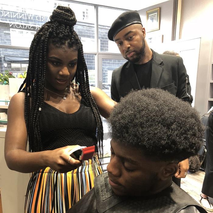 Inside afro hair session 1 - www.salonbusiness.co.uk