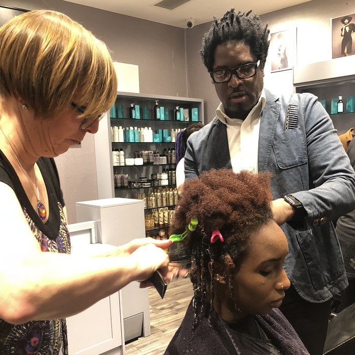 Inside afro hair session 2 - www.salonbusiness.co.uk