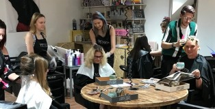 Anne Veck Surprise visit - www.salonbusiness.co.uk