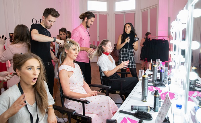 inside the pink party - www.salonbusiness.co.uk