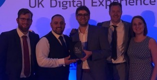 Salon Spy at Digital Experience Awards - www.salonbusinessawards.co.uk