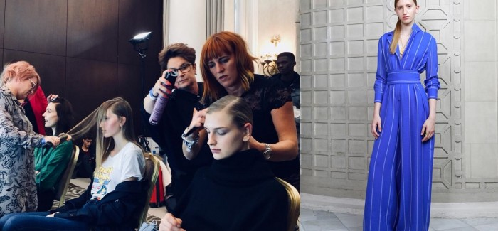 KAM HAIR & BODY SPA STYLE HAIR FOR JOHNSTON'S OF ELGIN AT LFW