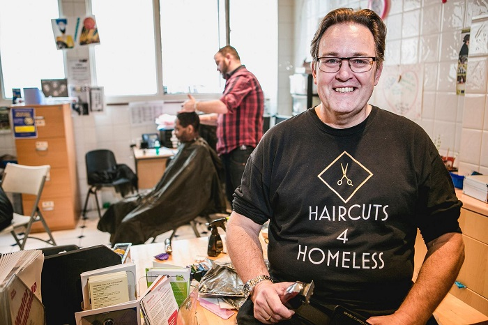 haircuts for the homeless 1 - www.salonbusiness.co.uk