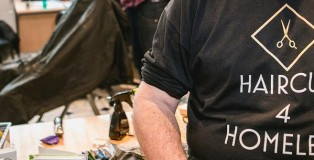 haircuts for the homeless - www.salonbusiness.co.uk