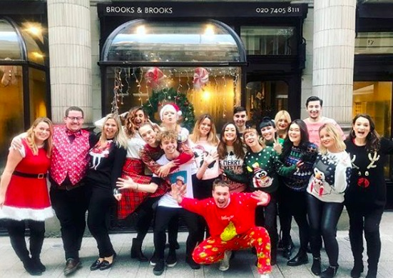 Xmas tips from Brooks and Brooks - www.salonbusiness.co.uk