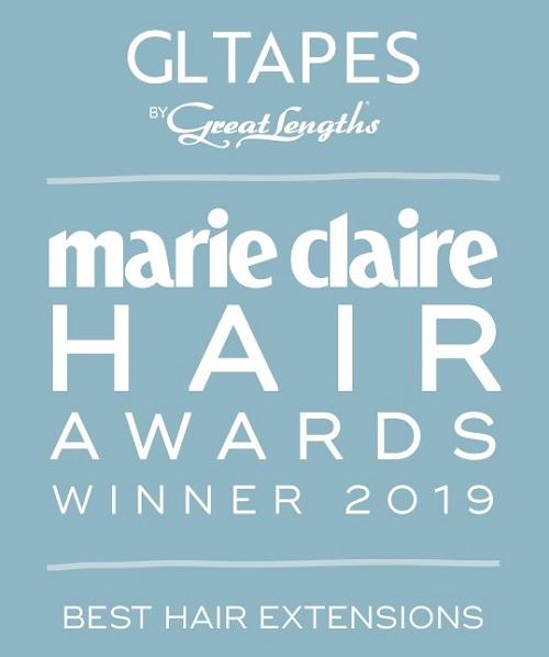 Marie  Claire Winners Logo - www.salonbusiness.co.uk