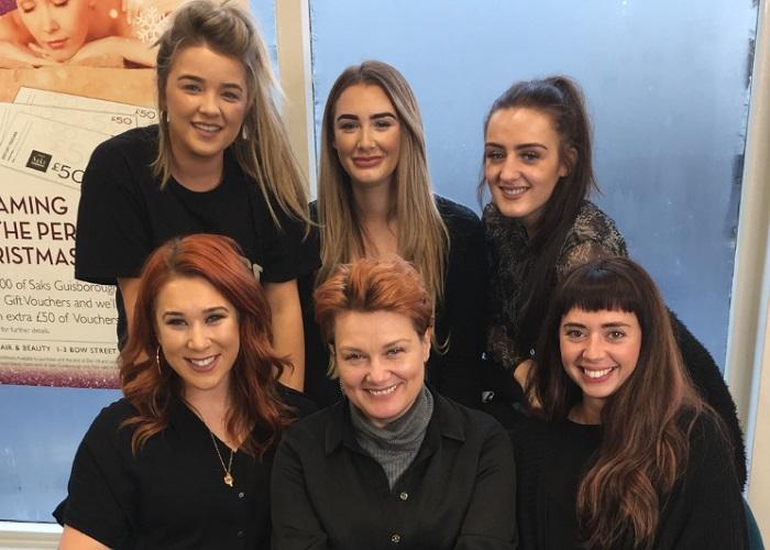 Saks Guisborough Team 1 - www.salonbusiness.co.uk