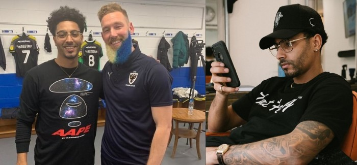OSMO Brand Ambassador Justin Carr's Blue and Yellow Beard Unveil