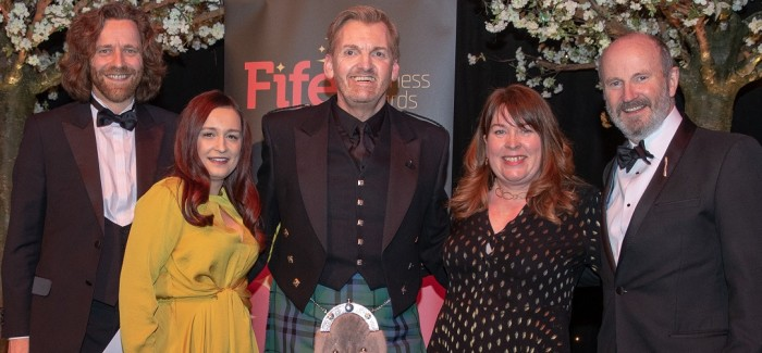 Byron Hairdressing Awarded Fife Business Award