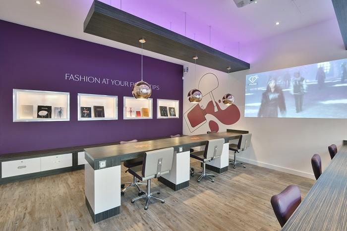 Q61 nail + beauty studio_Fashion Wall_2 - www.salonbusiness.co.uk