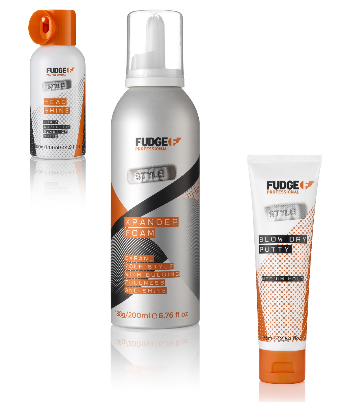 Fudge products - www.salonbusiness.co.uk
