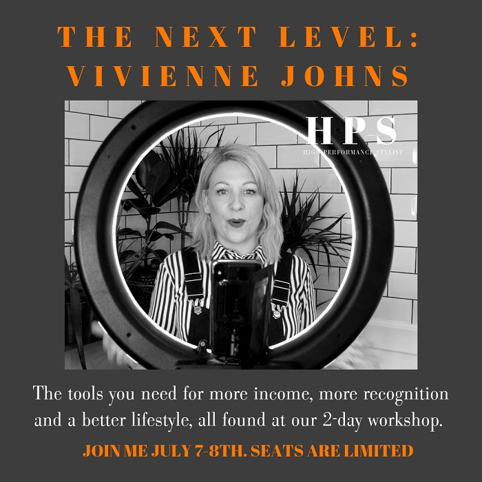 Vivienne Johns Announcement - www.salonbusiness.co.uk