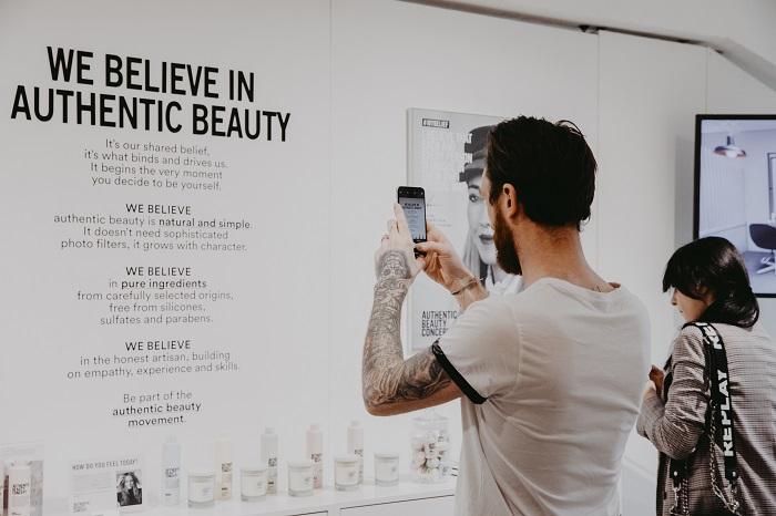 authentic beauty concept shot - www.salonbusiness.co.uk