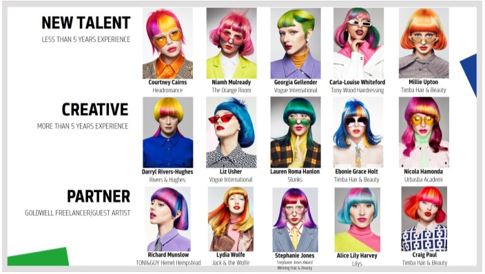 Goldwell Color Zoom UK finalists - www.salonbusiness.co.uk