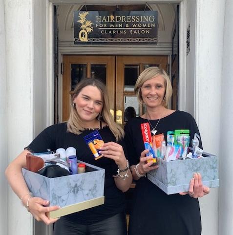 q charity work - www.salonbusiness.co.uk