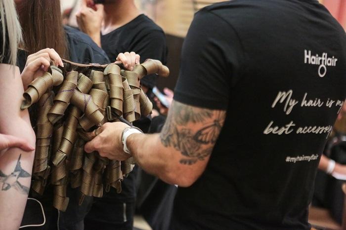 curlformers at fashion week - www.salonbusiness.co.uk