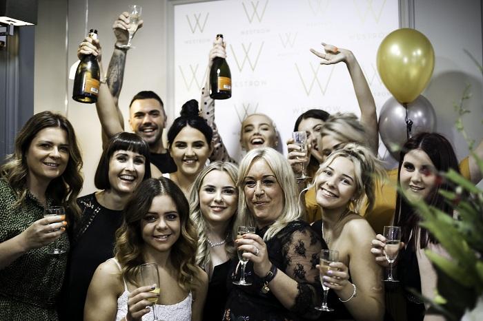 westrow party - www.salonbusiness.co.uk