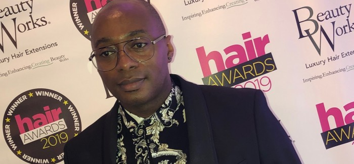 DELROY DAVYIS WINS AFRO HAIRDRESSER OF THE YEAR