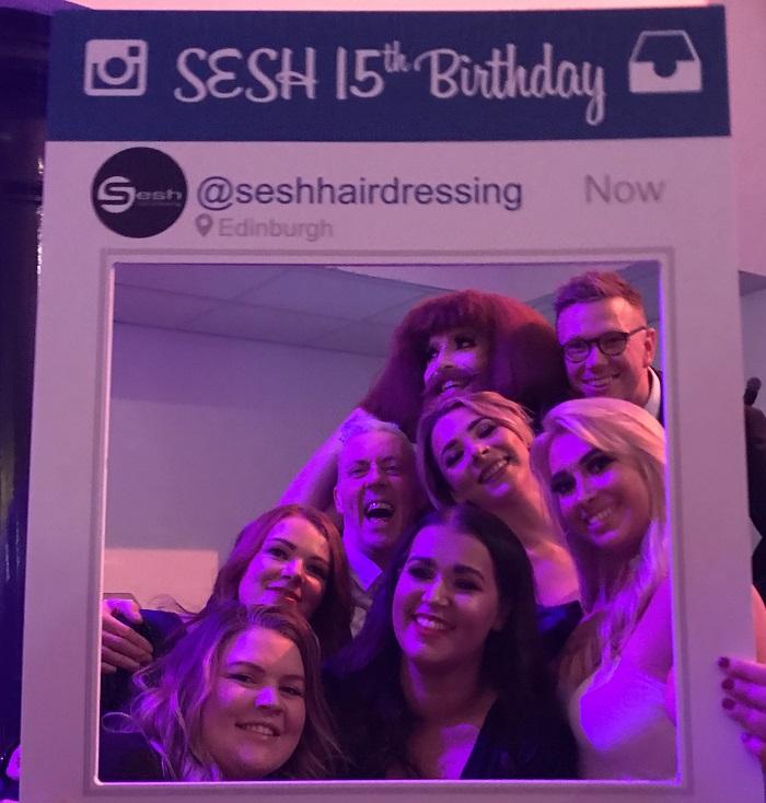 SESH Party - www.salonbusiness.co.uk