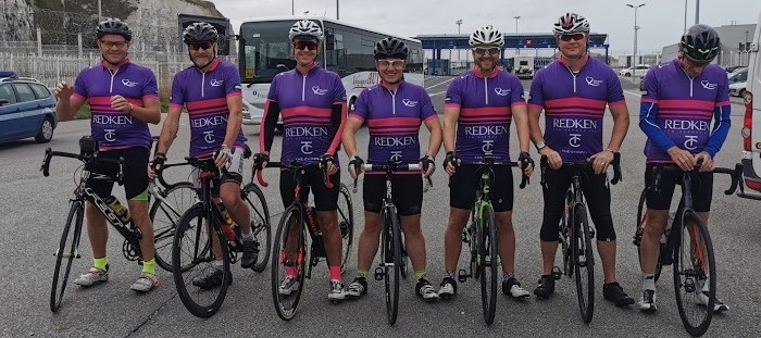 Wheelie tired riders raise £8,750 for The Hair & Beauty Charity!