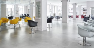 inside Maletti salon - www.salonbusiness.co.uk
