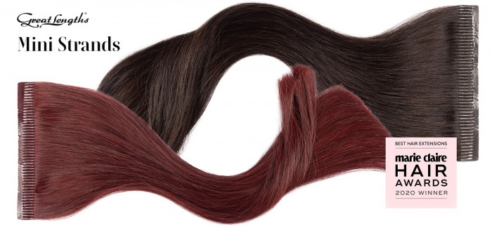 Great Lengths voted Best Hair Extensions at the Marie Claire HairAwards, second year in a row