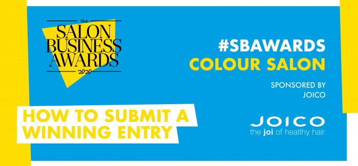 Could you be the #SBAwards's Colour Salon of the year?