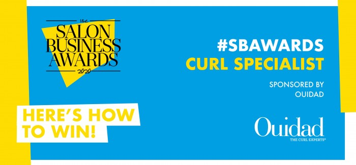 #SBAwards New Category: Curl Specialist Sponsored by OUIDAD