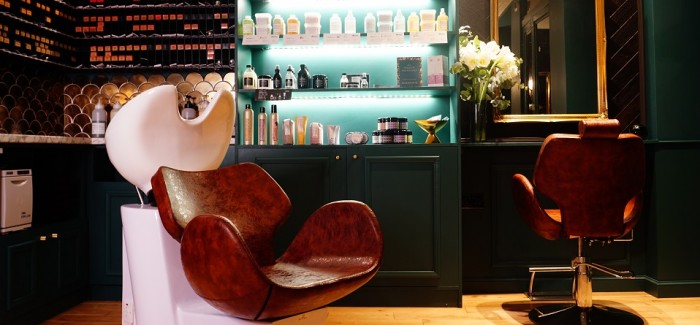 Explore The Interior Inspirations Behind the MARKDAVID salon