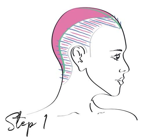 Quick contouring technique- Step 1 - www.salonbusiness.co.uk