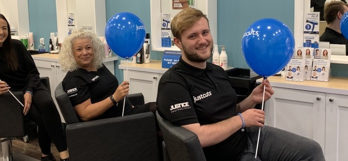 Just Cuts celebrate national recognition for commitment to salon owners