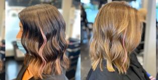 pink strand
