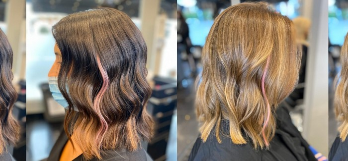 Winchmores Hair & Beauty go PINK with Great Lengths