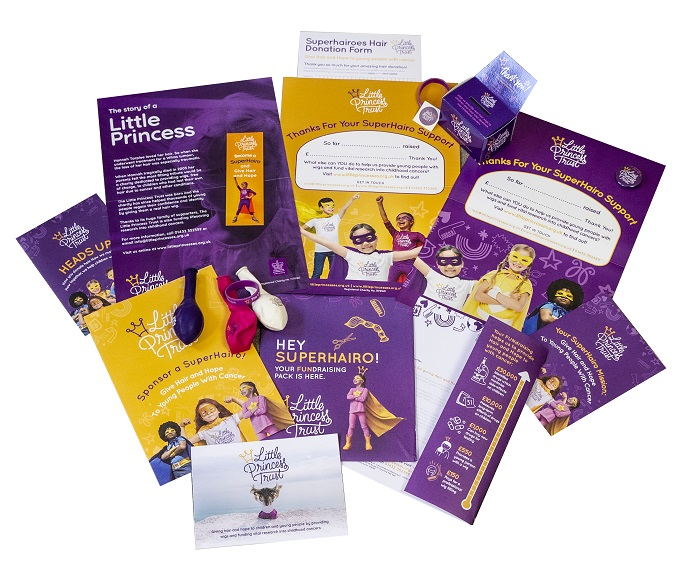 Little Princess Trust Promotion Pack - www.salonbusiness.co.uk