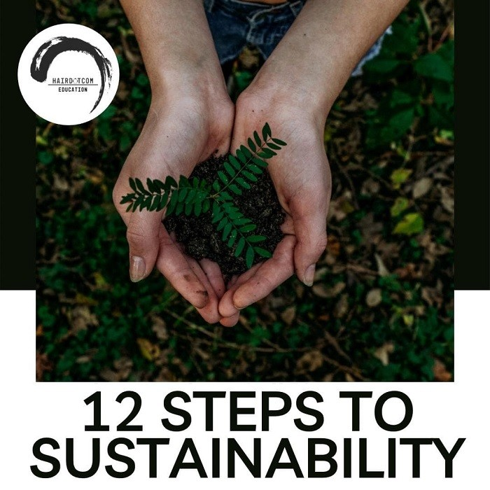 HAIRDOTCOM At Home: 12 Steps to Sustainability