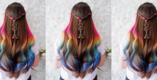 rainbow hair cover - www.salonbusiness.co.uk