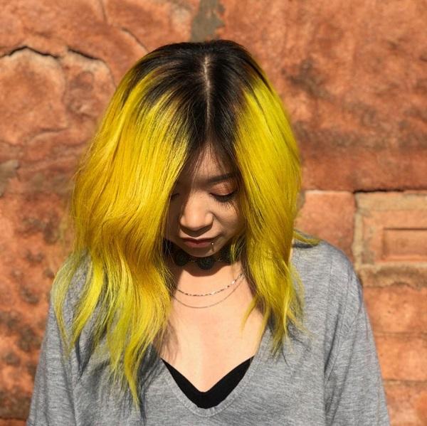 yellow hair trend - www.salonbusiness.co.uk
